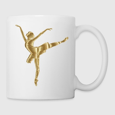 ballerina ballett dance dancer tanz taenzer yoga39 - Coffee/Tea Mug