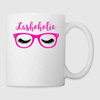 Pretty Pink LashoHolic Cute Eyelash Perfectionist - Coffee/Tea Mug
