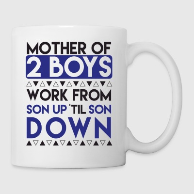 Mother Of Two Boys - Coffee/Tea Mug