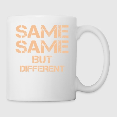 same same but different thailand quote holiday t-s - Coffee/Tea Mug