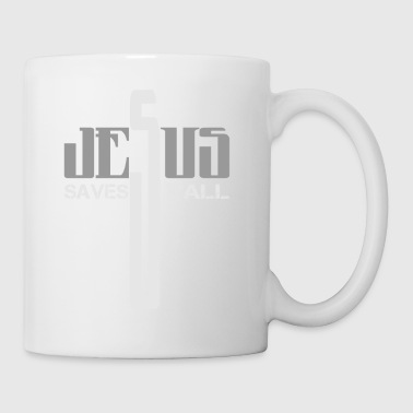jesus saves y'all - Coffee/Tea Mug