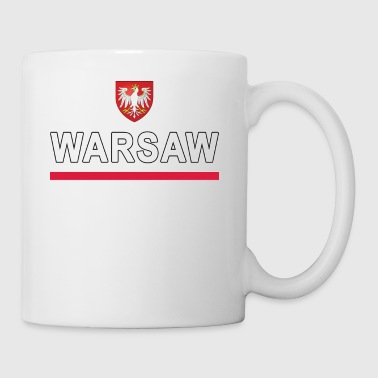 Warsaw City Poland Jersey Style - Coffee/Tea Mug