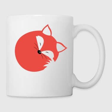 Sleeping Fox - Coffee/Tea Mug