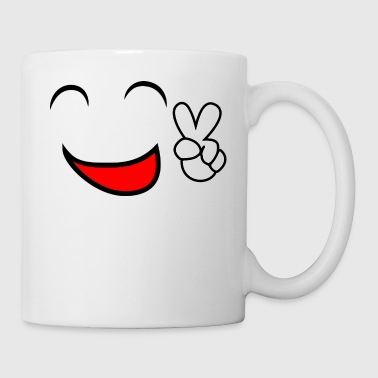 smiley face - Coffee/Tea Mug