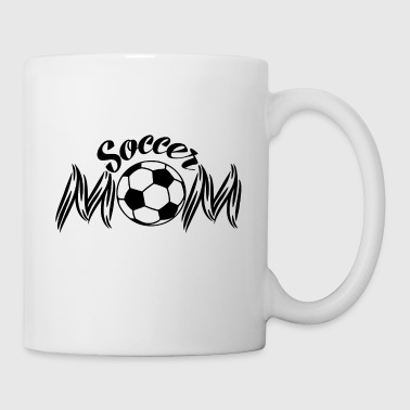 GIFT - SOCCER MOM BLACK - Coffee/Tea Mug