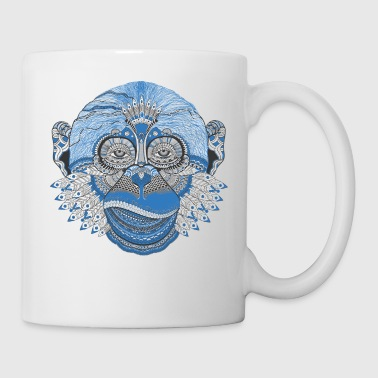 Hippy Cool Monkey - Coffee/Tea Mug