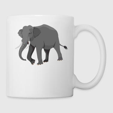 elephant gift present - Coffee/Tea Mug