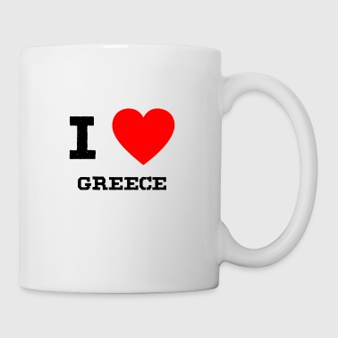 i love Greece - Coffee/Tea Mug