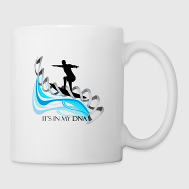 Surfing is in my DNA gift for surfers - Coffee/Tea Mug