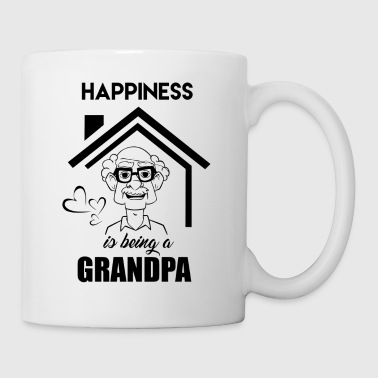 Happiness Is Being A Grandpa Mug - Coffee/Tea Mug