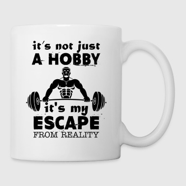 Escape From Reality Weight Lifting Mug - Coffee/Tea Mug