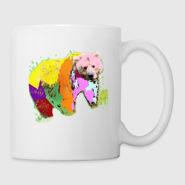rainbow bear - Coffee/Tea Mug