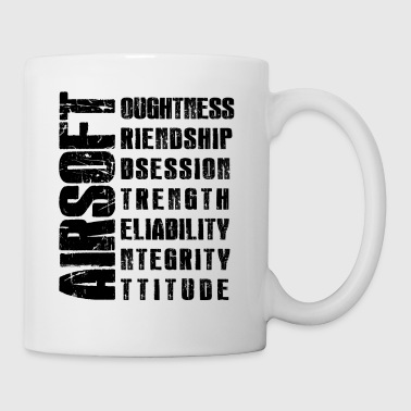 Airsoft Virtues Mug - Coffee/Tea Mug