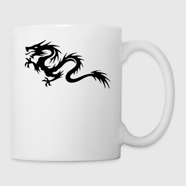 Tribal Dragon - Coffee/Tea Mug