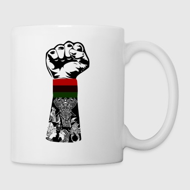 african map - Coffee/Tea Mug