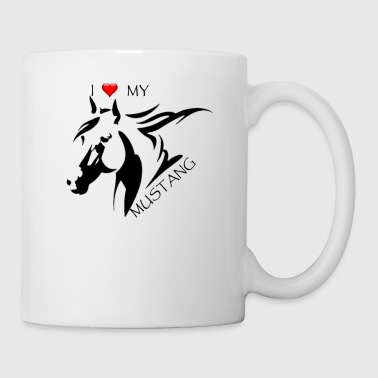 I LOVE MY MUSTANG - Coffee/Tea Mug