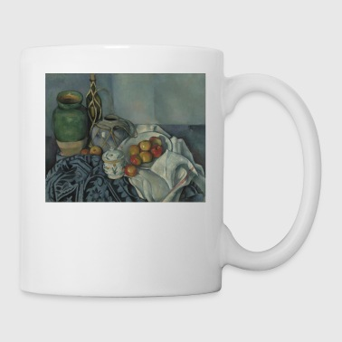 Still Life with Apples by Getty Cezanne - Coffee/Tea Mug