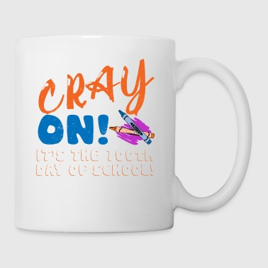 Crayon 100th Day Of Class Gift Design - Coffee/Tea Mug
