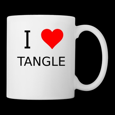 I love Tangle - Coffee/Tea Mug