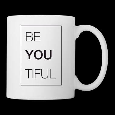 Be YOU TIFUL - beautiful T-shirt - Coffee/Tea Mug