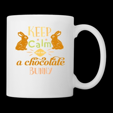 keep calm and eat a choc - Coffee/Tea Mug