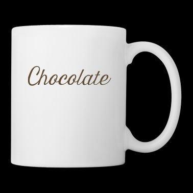 Chocolate Script - Coffee/Tea Mug