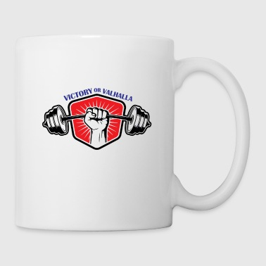 VictoryValhalla2 fitness Bodybuilding powerlifting - Coffee/Tea Mug