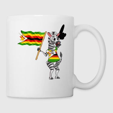 A Zimbabwean Zebra - Coffee/Tea Mug