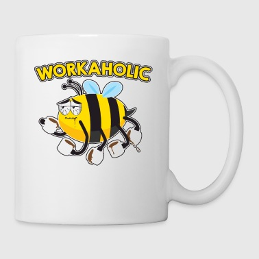 WORKAHOLIC Biene - Coffee/Tea Mug