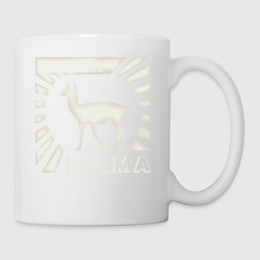 dramatic drama llama cool vintage retro style gift - Coffee/Tea Mug