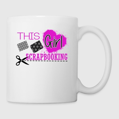 This Girl Love Scrapbooking Mug - Coffee/Tea Mug