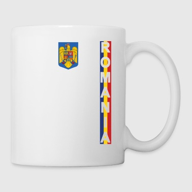 Romania Football Jersey Style Flag Wear - Coffee/Tea Mug