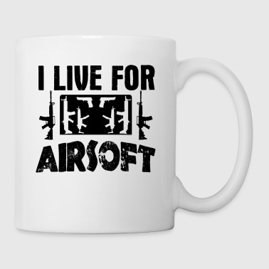 I Live For Airsoft Mug - Coffee/Tea Mug