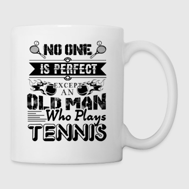 Old Man Who Plays Tennis Mug - Coffee/Tea Mug