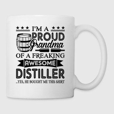 Proud Grandmar Of Distiller Mug - Coffee/Tea Mug