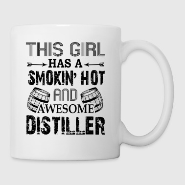 Smoking Hot And Awesome Distiller Mug - Coffee/Tea Mug