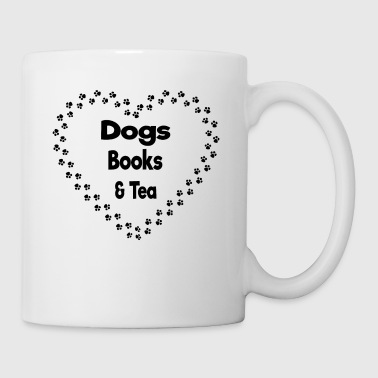 dogs books and tea - Coffee/Tea Mug