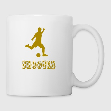 soccer shooter - Coffee/Tea Mug