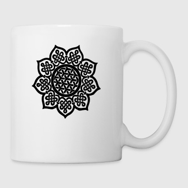 Flower Drawing - Coffee/Tea Mug