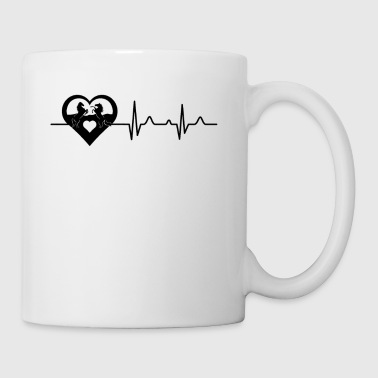 Horse Heartbeat Mug - Coffee/Tea Mug