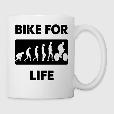 bike for life - Coffee/Tea Mug