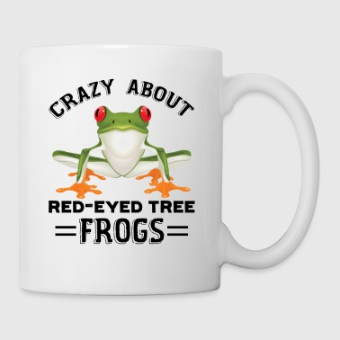 Red Eyed Tree Frog Mug - Coffee/Tea Mug