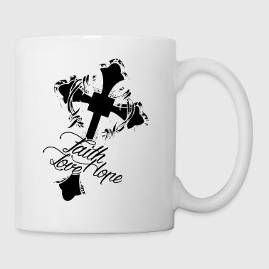 Christian Faith Hope Love Mug - Coffee/Tea Mug