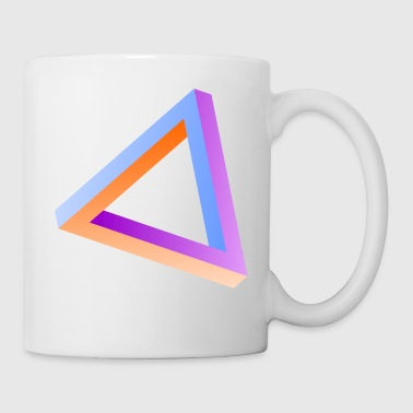 Impossible triangle visual optical illusion - Coffee/Tea Mug