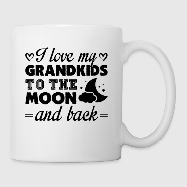 I Love My Grandkids To The Moon And Back Mug - Coffee/Tea Mug
