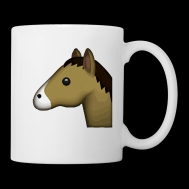 horse face - Coffee/Tea Mug
