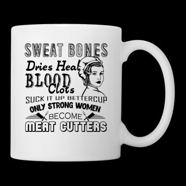 Strong Meat Cutter Woman Mug - Coffee/Tea Mug