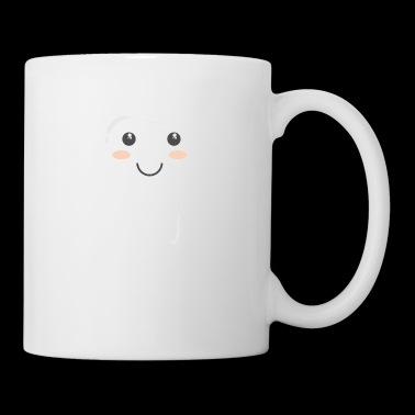 Tooth clean mouth happy healthy brush gift idea - Coffee/Tea Mug
