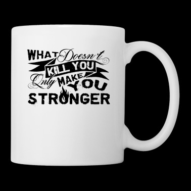 Only Make You Stronger Electrician Mug - Coffee/Tea Mug
