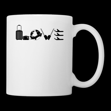 Flight Attendance Love Mug - Coffee/Tea Mug